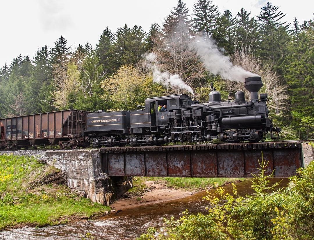 Cass Scenic Railroad photo credit Train Wizard Productions-Pocahontas County