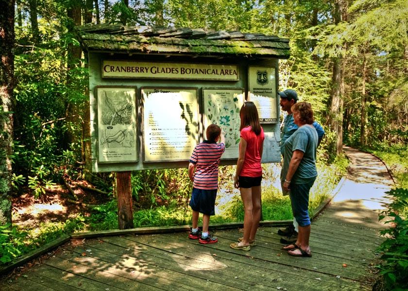 Cranberry Glades Botanical Area photo credit Pocahontas County CVB